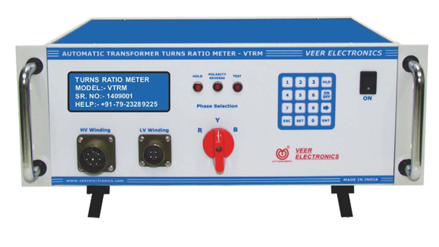 Veer Automatic Transformer Turns Ratio Meter